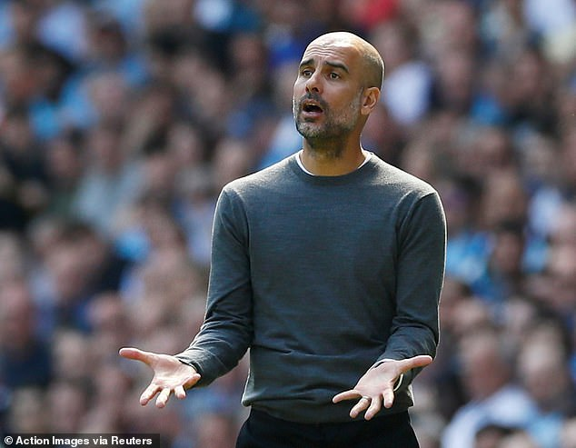 Pep Guardiola criticised Ole Gunnar Solskjaer for trying to influence the referee for the derby