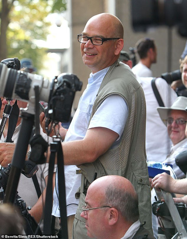 Royal photographer Tim Rooke (pictured) has captured some of the British royal family's most important milestones, including the birth of Prince George and Princess Diana's final weeks
