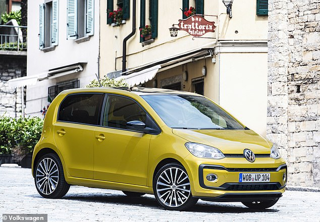 The VW Up features twice in this list. The first example is the turbocharged 89bhp model, which we think is the better of the two options thanks to its higher performance