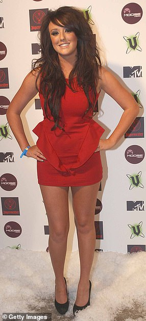 Confident: Charlotte has spoken to MailOnline about her surgeries in the past, she said: 'I have no regrets over my surgery. I never went over the top.' (pictured before in 2011)