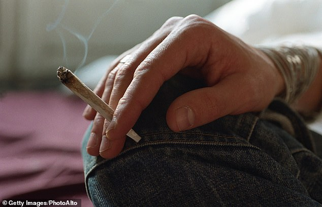 Studying 30,000 people over five years, researchers at Michigan State University found everyone had gained weight but marijuana users piled on fewer pounds