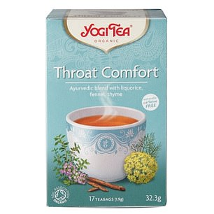 Top tip: Warm drinks increase blood flow to the throat and this may help heal soreness caused by a cold or infection