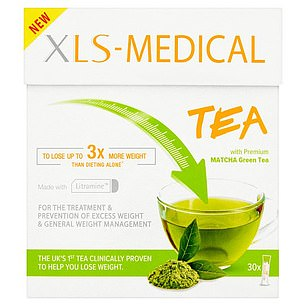 Claim: This is green tea powder with Litramine, a fibre that the maker says is clinically proven to bind to dietary fats