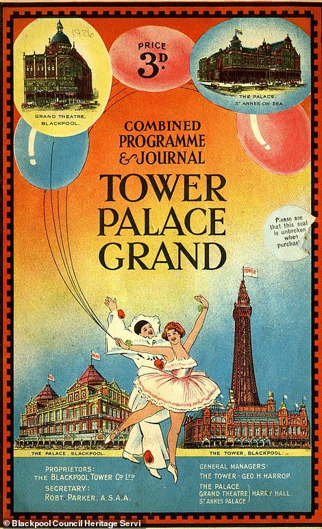 Blackpool Tower brochure from 1926