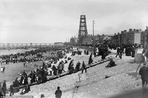 The tower made it easier for Blackpool to attract tourists from across the UK and the rest of Europe, much like its French counterpart, the Eiffel Tower