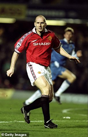 Jaap Stam was an integral part of United's defence that campaign