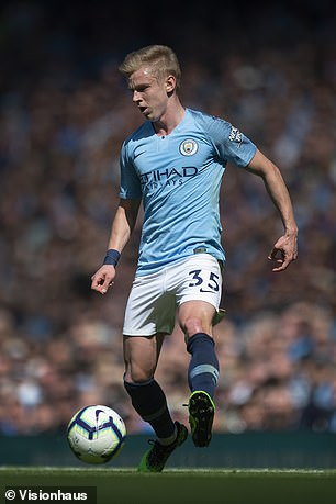 Oleksandr Zinchenko fills in well at left-back