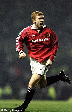 Paul Scholes was impressive in midfield