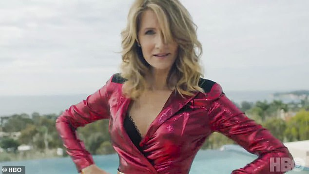 Watch out: The principal then described Laura Dern's highly strung socialite as 'the Medusa of Monterey'