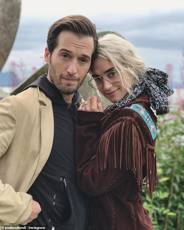 Celebrity hair stylist, William Jordan Blackmore, has filed a lawsuit against his heiress ex Andi Potamkin seeking possession of a $31,500 chair that they received as a gift at their 'sham wedding'. The couple are pictured in happier times