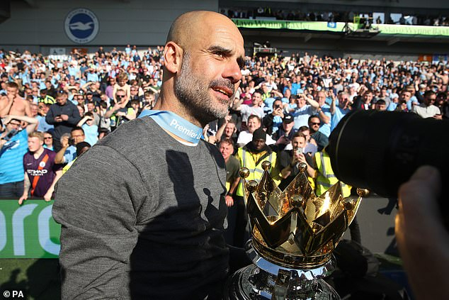 Pep Guardiola is on his way to beat Manchester United from their perch with his city