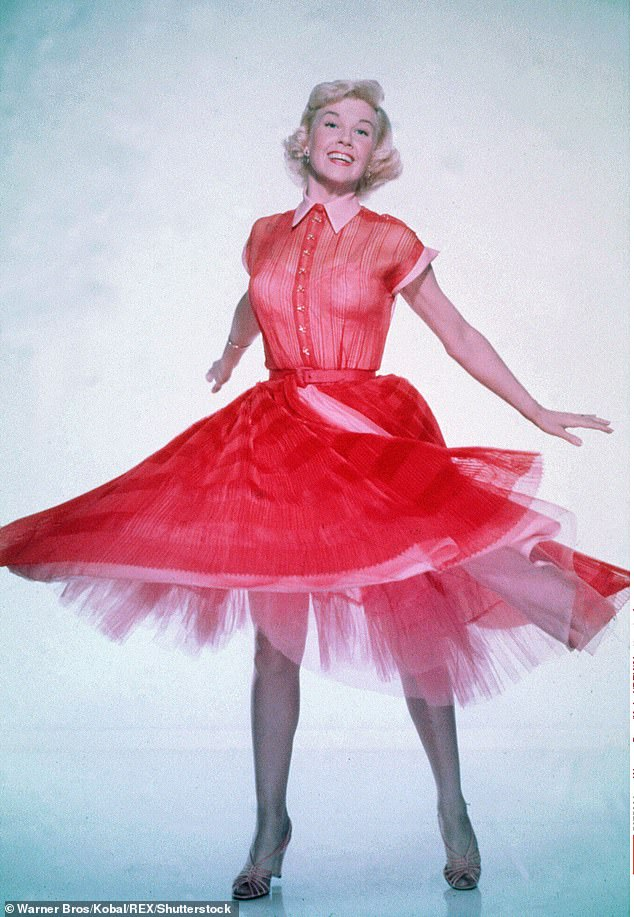 """Doris Day was not shy to admit that her healthy girl next door was an act. In her biography, she wrote, """"I'm tired of being considered Miss Goody Two-Shoes. I'm not the All-American Virgin Queen, and I want to deal with the true, honest story of who I really am. & # 39;"""