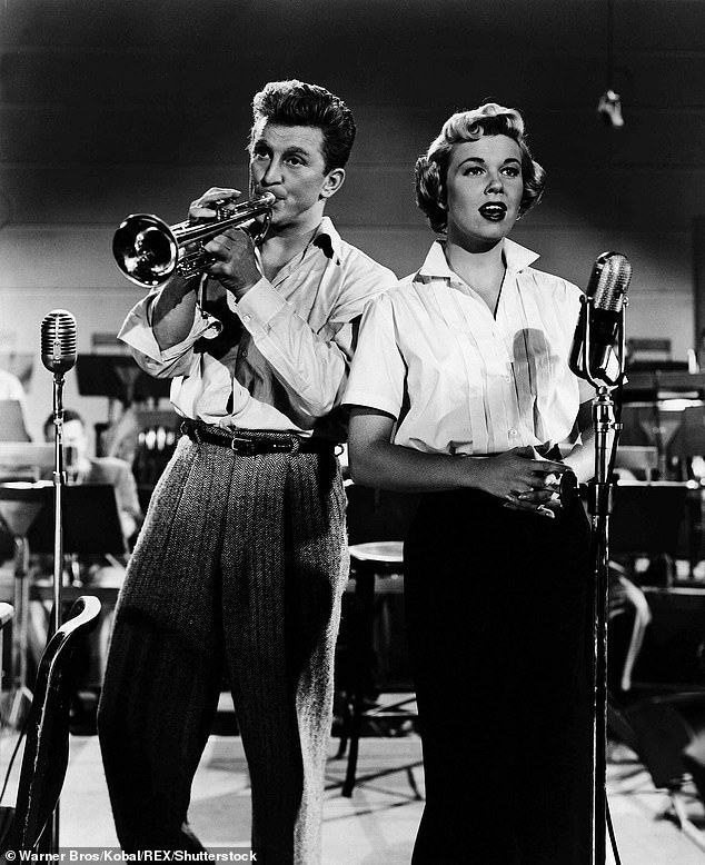 Doris caught the attention of Les Brown (not pictured), who wanted to give her jazz orchestra a feminine voice. At the time, she was only 16 years old and Brown lied about her age so she could perform in the nightclubs. He convinced her to shorten her name to Doris Day so that he would fit in with the Marquis and record a series of music hits together