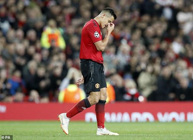 Manchester United flop Alexis Sanchez suffered a torrid campaign