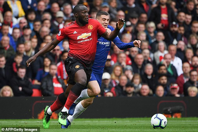 Romelu Lukaku's first unpredictable touch was a source of fun this season