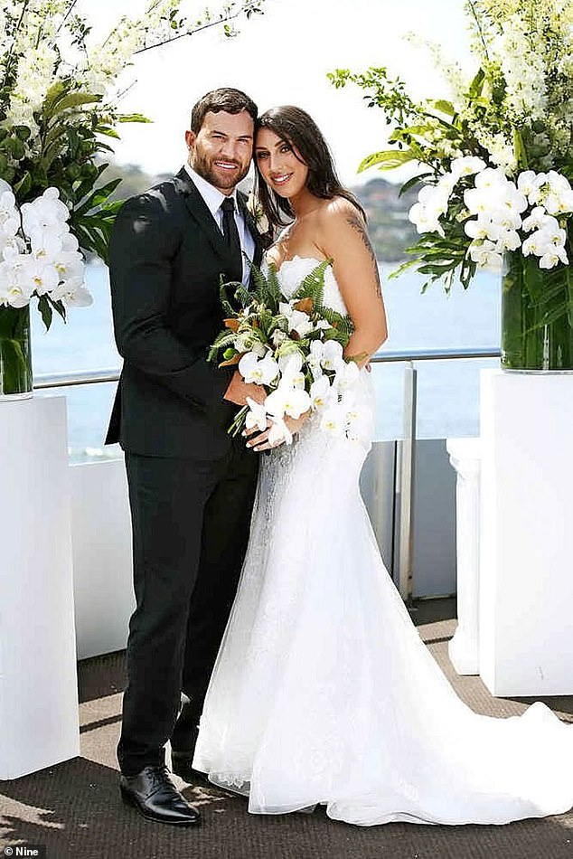 Blockbuster: Season six of Married At First Sight broke ratings records earlier this year. Pictured: Daniel Webb and Tamara Joy
