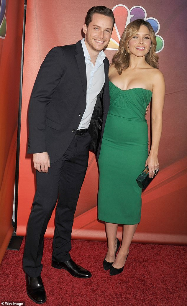 Former love: Jesse dated Chicago Med star Sophia Bush between 2014 and 2016 (pictured January 2015)