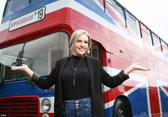 Host Suzanne, pictured, says that the Spice Girls were her childhood obsession. She said: 'Being part of this project has been like a dream come true and I can't wait to meet other Spice Girls fans through this experience'