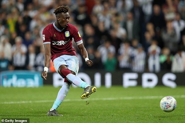 Tammy Abraham scored the winning penalty in the play-off semi-final win over West Brom