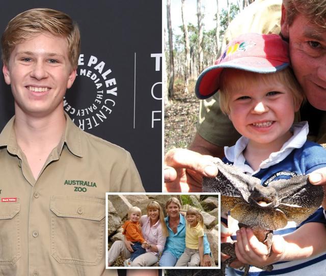 Son Of Crocodile Hunter Steve Irwin Says He Is Happy To Put His