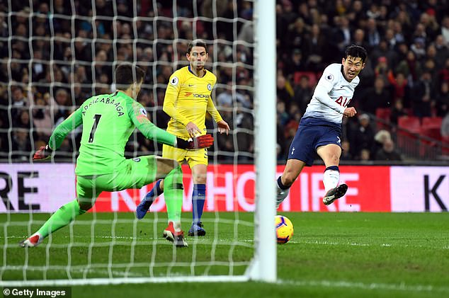 Son Heung-min enjoyed a spectacular season and get rave reviews for his goal in November