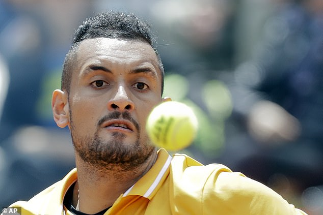 Outspoken Nick Kyrgios has launched a stinging attack on 'cringeworthy' Novak Djokovic