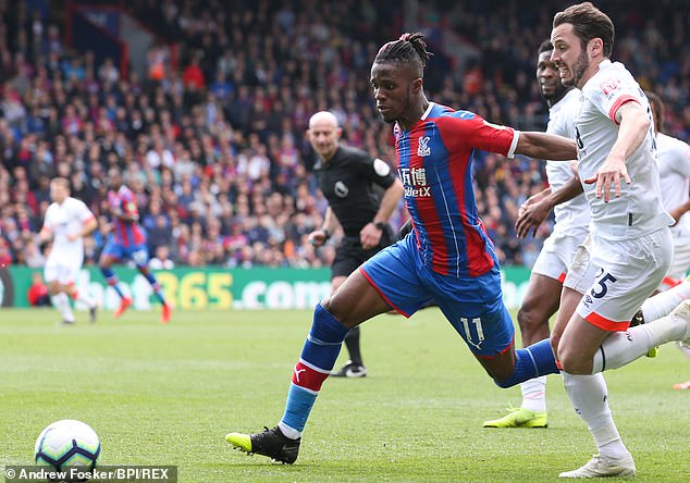 The winger could command a fee of £80million and Palace would demand a large amount