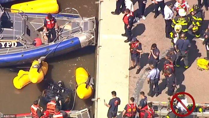 Le pilote était la seule personne à bord de l'hélicoptère. Lui et un travailleur de l'hélipad ont subi des blessures ne mettant pas sa vie en danger