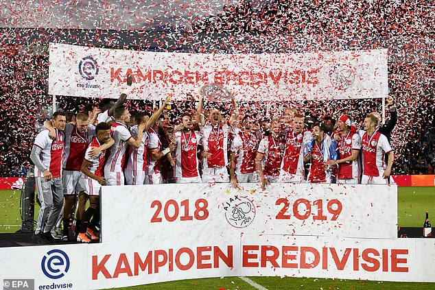 Ajax's talented young side have caught the eye in a season where they were on for a treble