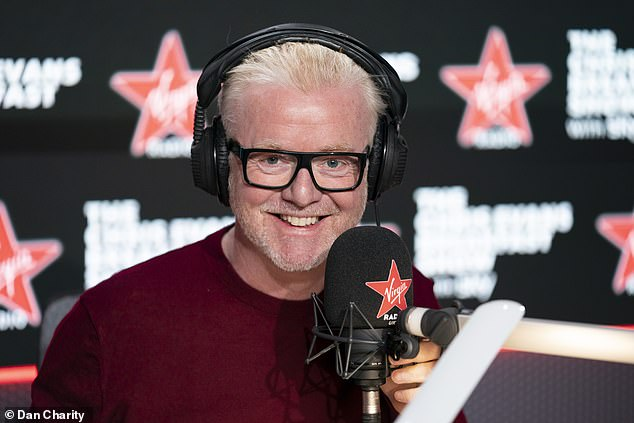 Chris Evans brought in 1.05million weekly listeners for his new Virgin Radio Breakfast Show – seven times the station's figures for the same period last year [File photo]