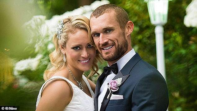 Flashback:Clare was paired with Jono Pitman(pictured) on Married At First Sight season two