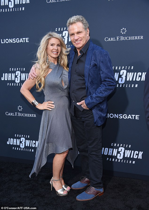 Martin: Martin Kove poses with his wife Vivienne
