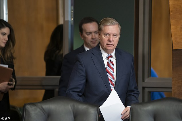 Republican Sen. Lindsey Graham said Wednesday that the proposal the White House previewed to Congress 'isn't designed to become law.' He said it was intended to 'unify' the GOP on border security and a merit-based admission system