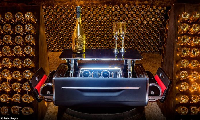 If you had £44,000 to spend, would you buy a the Rolls-Royce Champagne Chest...