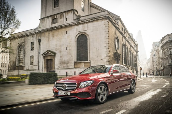 Or would you rather have a brand new Mercedes-Benz E-Class saloon, which starts from £38,070 on the road in the UK