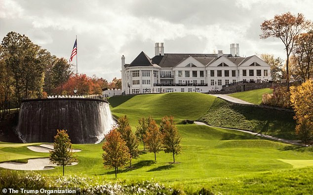 Trump National Golf Club, outside Washington D.C.Trump also golfs frequently at his Virginia course, which made $13 million