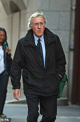 Alan Tutin (pictured), 71, assaulted the victims at the Merrow Park Practice in Guildford between 1980 and 2004, where his wife was also a practitioner