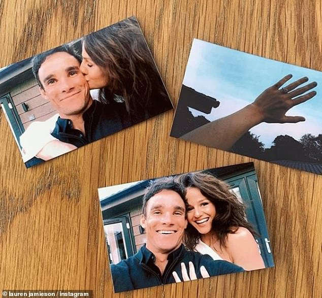 Happy Days: Max Evans has revealed that he is engaged to his dancer friend Lauren Jamieson