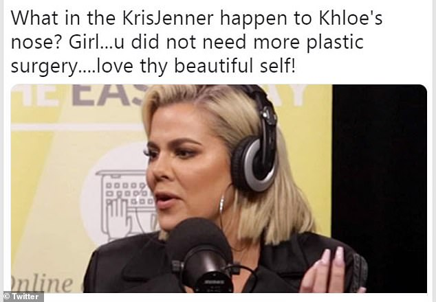 Did she do it? In 2019 it appeared Khloe took the plunge when fans noticed her nose looked different during an interview for the Laura Wassar podcast Divorce Sucks