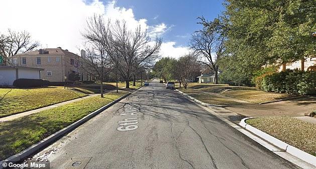 Le bloc 2900 de la 6ème avenue dans le quartier Ryan Place de Fort Worth est vu ci-dessus