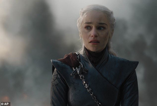 She said: 'The mother of dragons chapter has taken up the whole of my adult life. This woman has taken up the whole of my heart'