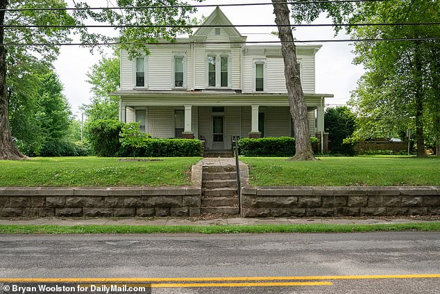 Murder victim Edward Dansereau lived in this house in Pembroke, Kentucky. His charred body was found in a burning car miles away