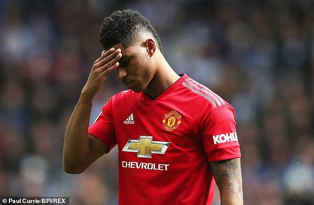 Manchester United-Star Marcus Rashford gehörte zu den verschwenderischsten Stürmern der Liga