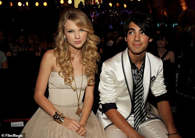 Previous flame: Taylor attended Joe in the early days of his singing career in 2008, but unfortunately separated after only a few months together