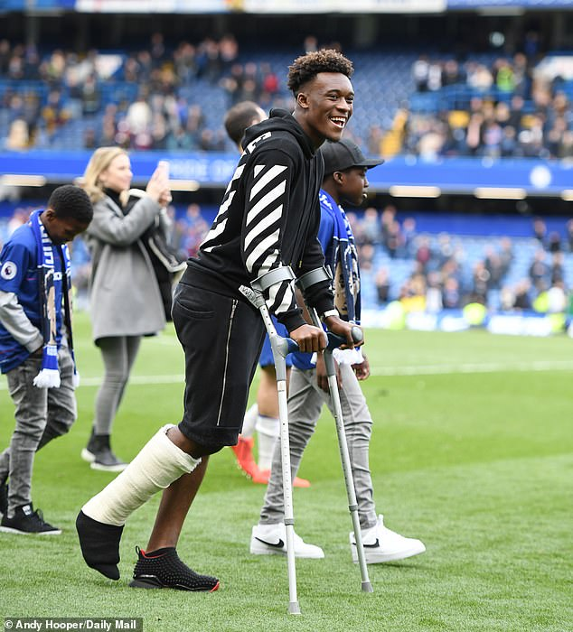 Hudson-Odoi has suffered an Achilles tendon injury but Bayern are still interested