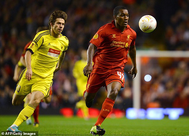 Andre Wisdom has gained a foothold in Liverpool's first team, but left for Derby two years ago