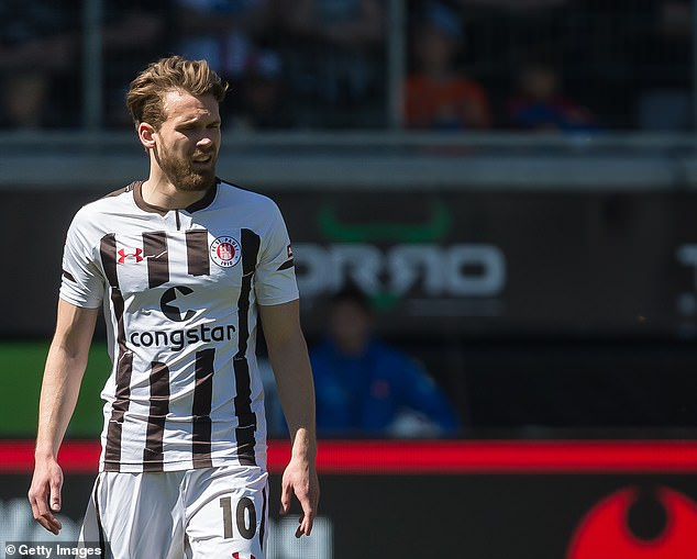 Christopher Buchtmann is back in his homeland playing for St. Pauli in Germany