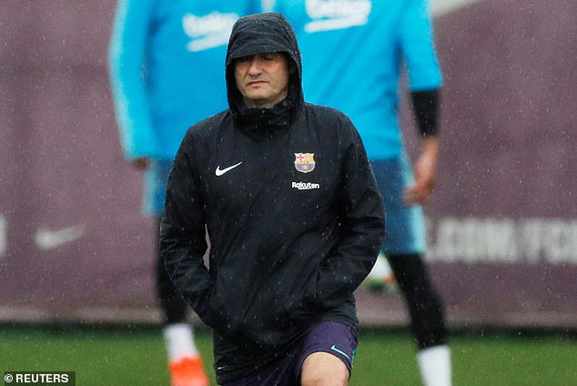 Coach Ernesto Valverde received backing from his captain after a successful season