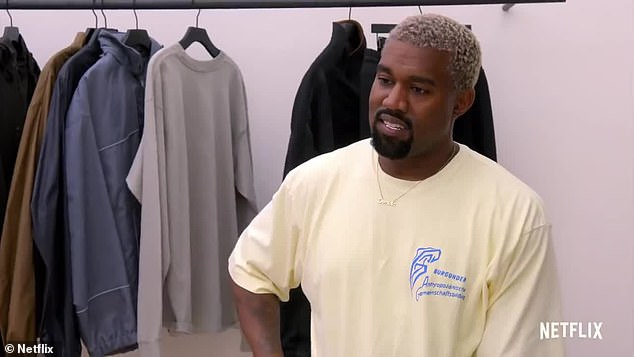 Mom is the word: Kanye West, 41, revealed that he is not allowed to refer to Drake in an upcoming episode of My next guest does not need David Letterman.