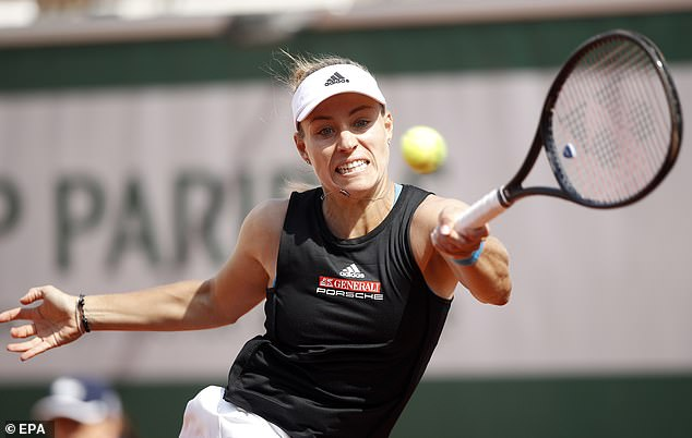 Kerber has been struggling with an ankle injury and a viral illness of late